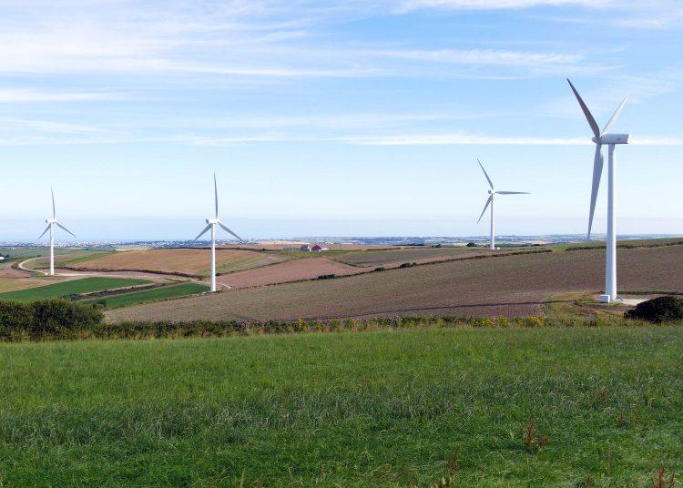 Farma wiatrowa, fot. Pixabay
