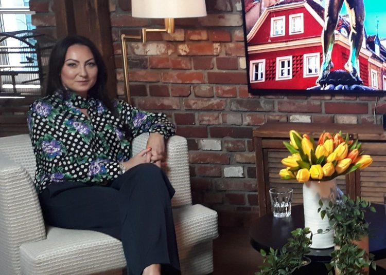 Lara Dobosz, CSR & Business Development Director w sieci Klubów Fitness UP