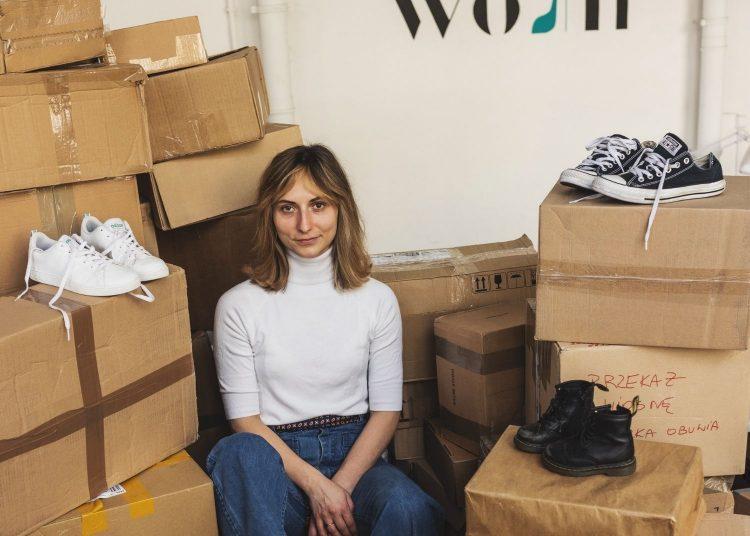 Martyna Zastawna, założycielka marki WoshWosh    Fot. materiały prasowe
