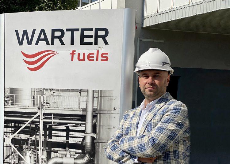 Kamil Skorupski, prezes Warter Fuels       Fot. Materiały prasowe