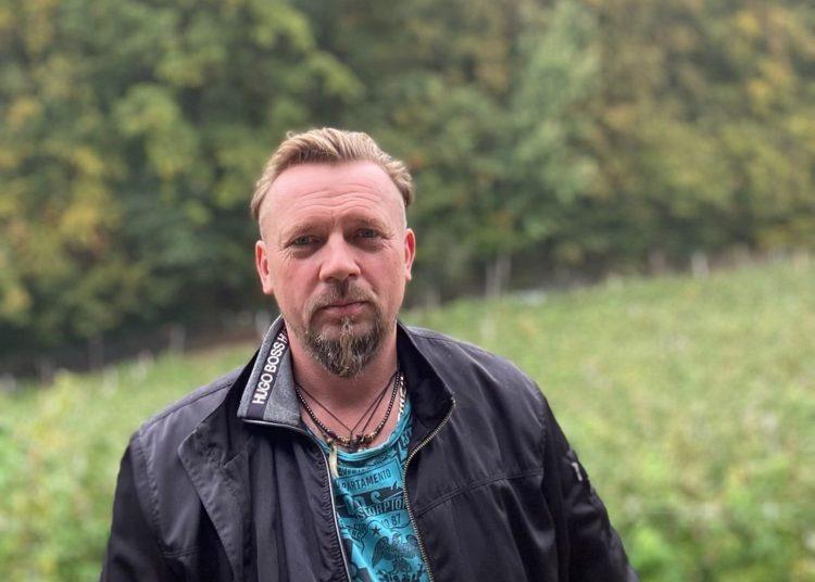Daniel Wojtyński, założyciel sklepu samoobsługowego z owocami i warzywami w Gdyni